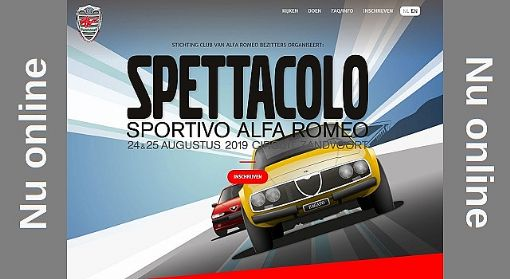 Spettacolo Sportivo website online, inschrijving geopend