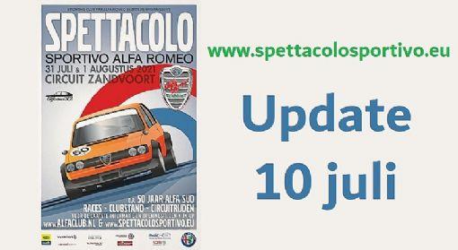 Nieuwe corona maatregelen raken ook het Spettacolo Sportivo