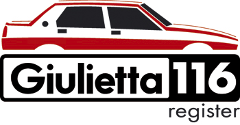 Giulietta 116 register