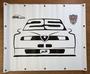 Spandoek logo 25 jaar Alfa 155