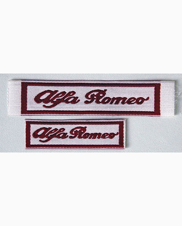 Embleem woord Alfa Romeo
