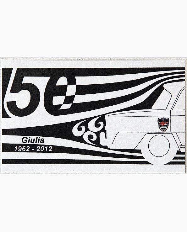 Sticker 50 Jaar Giulia (groot)