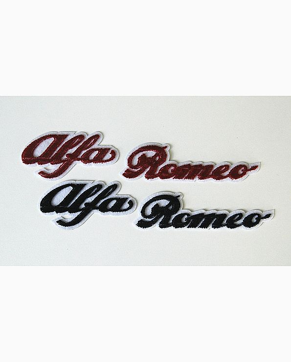 Embleem Alfa Romeo woord