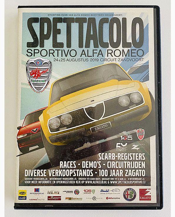 DVD Spettacolo Sportivo Alfa Romeo 2019