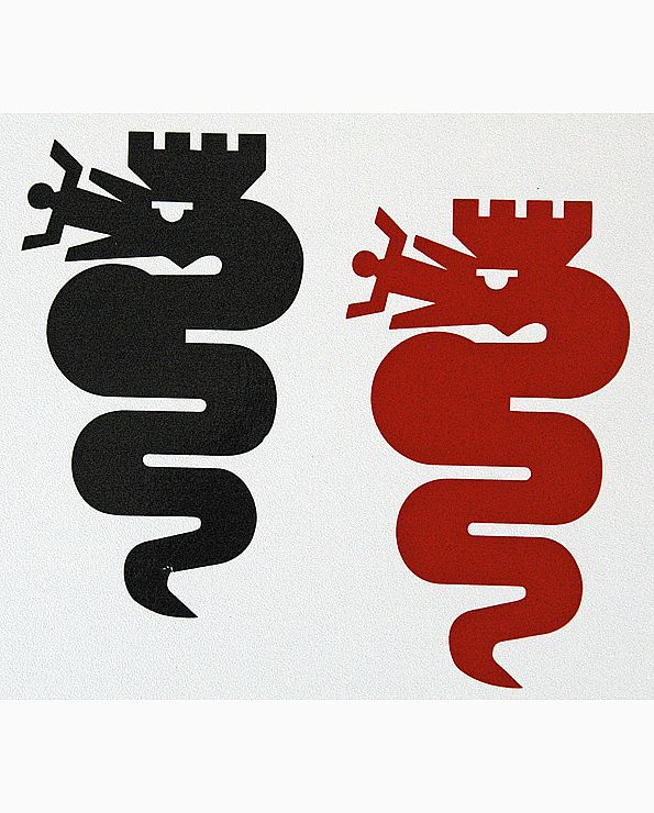 Sticker Alfaslang (25 cm)