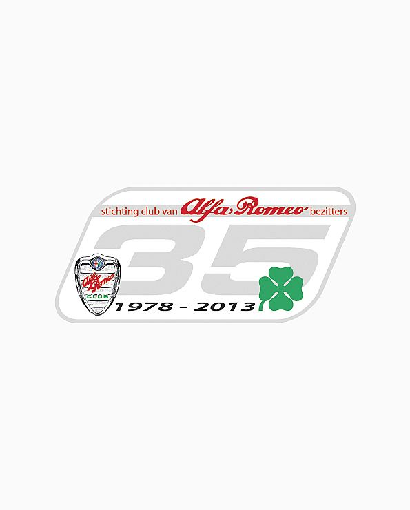 Sticker 35 Jaar SCARB