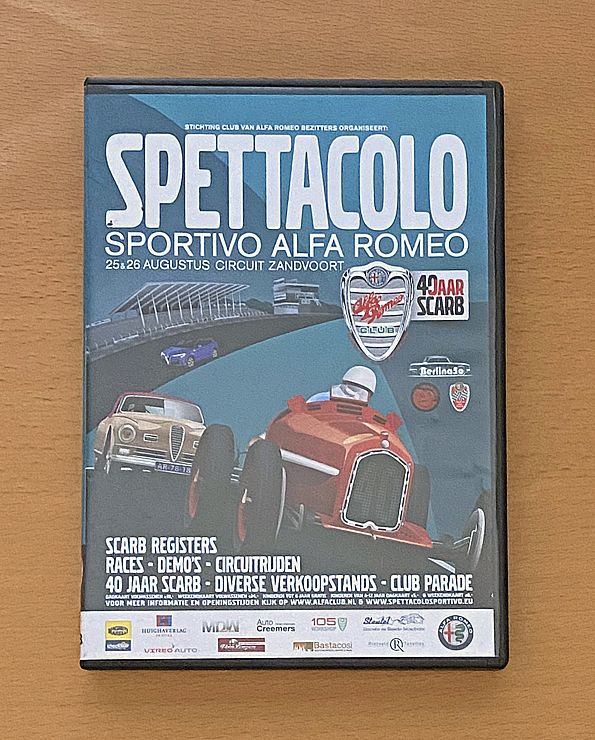 DVD Spettacolo Sportivo Alfa Romeo 2018