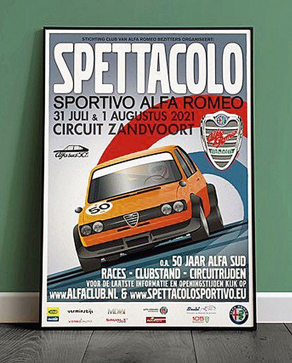 Poster Spettacolo Sportivo 2021