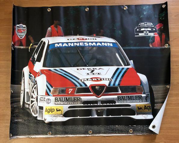 Spandoek 25 jaar Alfa 155