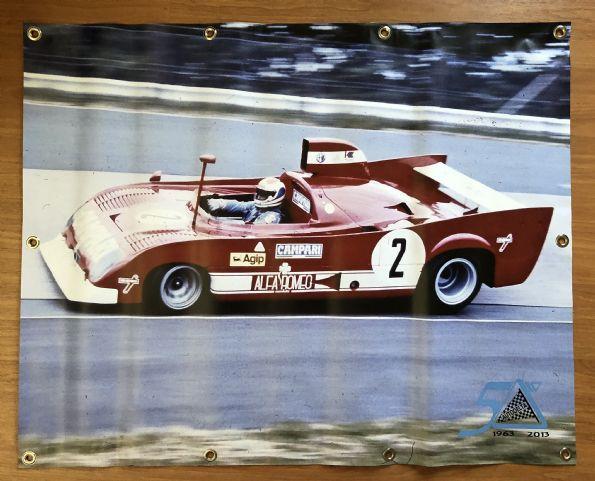 Spandoek 50 jaar Autodelta